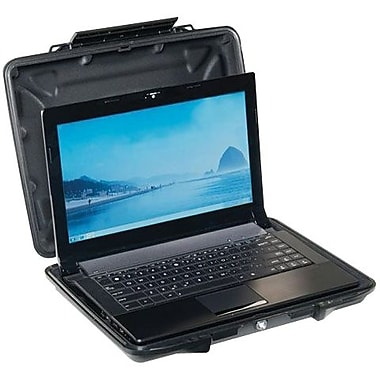 Pelican™ HardBack™ 1080-023-110 Carrying Case With Computer Case Liner, Black