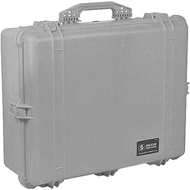 Pelican™ 1600-000-180 Hard Case With Foam, Silver