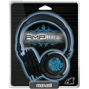 Maxell® 190265 Amplified Headphone, Blue
