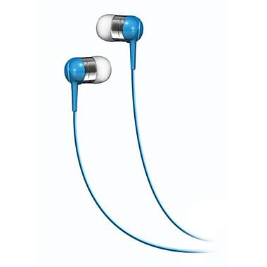 Maxell 190282 Stereo In-Ear Headphone, Blue