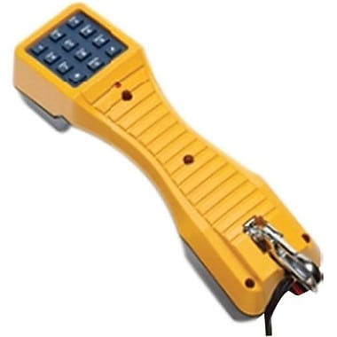 Fluke Networks® TS19 Test Set With Banana Jacks to Alligator Clips
