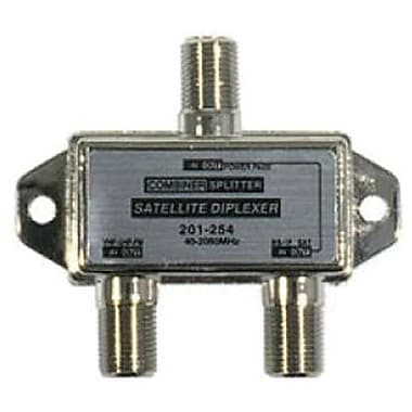 STEREN® 201-254 TV-Satellite Mini Diplexer/Mixer