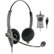 Vxi 203012 Binaural Headset With Noise Cancelling Microphone