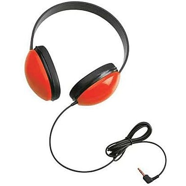 Califone® Ergoguys 2800 Children's Stereo Headphone, Red