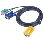 Aten® 2L5203P PS/2 KVM Cable, 10'(L)