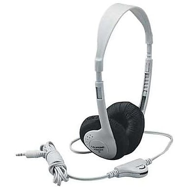 Califone® Ergoguys 3060AV Multimedia Stereo Headphone, Beige