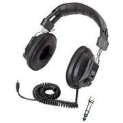 Califone® Ergoguys 3068AV Switchable Stereo/Mono Headphone, Black