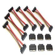 Aleratec™ 350122 MicroSATA to SATA Adapter Cable Bundle