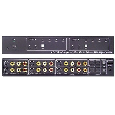Calrad® 40-841 Audio/Video Matrix Switcher