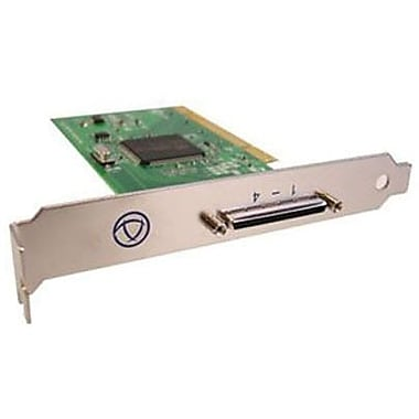 Perle Systems 04003080 4 Port PCI Low Profile Serial Adapter Card