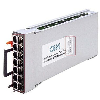 IBM® 44W4483 Intelligent Copper Pass-thru Expansion Module, 10/100/1000Base-T