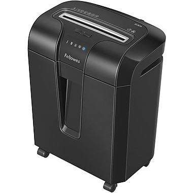 Fellowes® Powershred® 63Cb Cross-Cut Shredder, 10 Sheets
