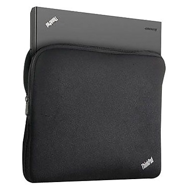 Lenovo® 51J0477 ThinkPad 15 W Notebook Sleeve, Black