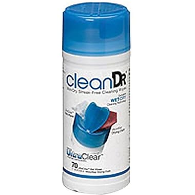 Digital Innovations 6012500 CleanDr Wet/Dry Streak-free Cleaning Wipe
