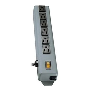 Tripp Lite 6SP Power Strip With 6' Black Cord, 6 Outlets