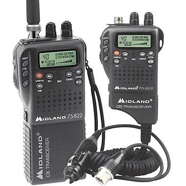Midland Radio® 75-822 Portable/Mobile CB Radio, 4 W
