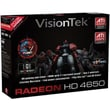 VisionTek® 900264 Radeon 4650 GPU Graphic Card With ATI Chipset, 1GB DDR2 SDRAM