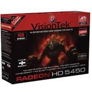 VisionTek® 900320 Radeon 5450 GPU Graphic Card with ATI Chipset, 1GB DDR3 SDRAM