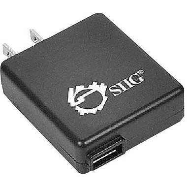 Siig® AC-PW0712-S1 USB Power Adapter, 5 VDC - 1 A