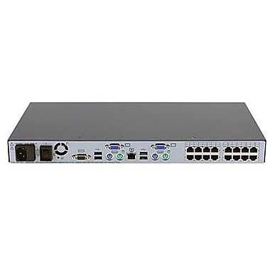 HP® AF617A Server Console KVM Switch, 16 Ports