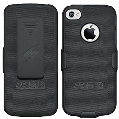 Amzer® Shellster Carrying Case For iPhone 5, Black