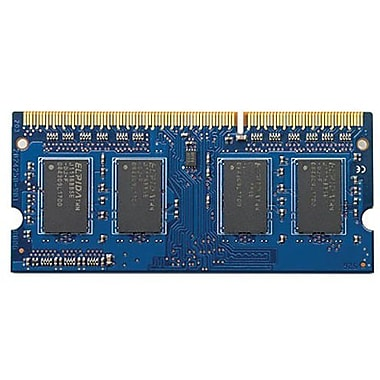 HP® B4U38AT DDR3 SDRAM (204-pin SoDIMM) Memory Module, 2GB