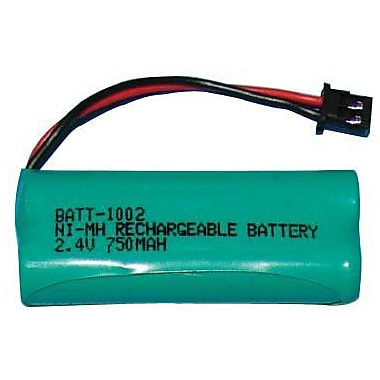 Dantona BATT-1002 750 mAh Ni-MH Cordless Phone Battery For Uniden