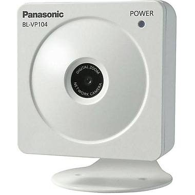 Panasonic® BL-VP104P Network Camera, 1/4in. CMOS