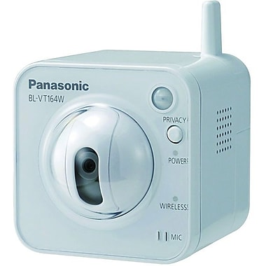 Panasonic® BL-VT164WP Pan Tilt Network Camera, 1/4in. CMOS