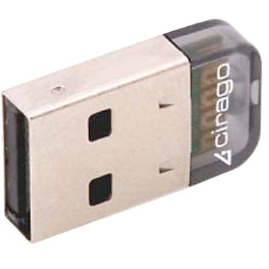 Cirago BTA3210 Micro USB Bluetooth 2.1 Adapter