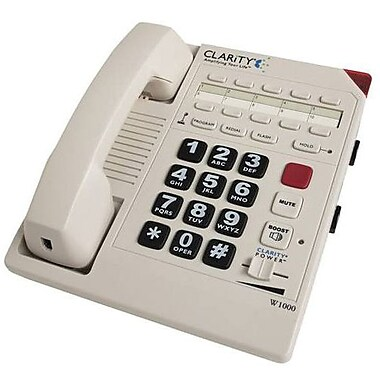 Clarity® C1000 Amplified Corded Phone