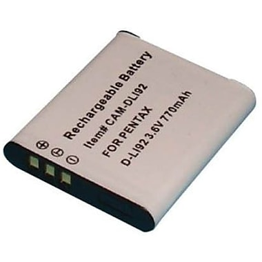 Dantona Replacement Digital Camera Battery, 3.6 VDC, 770 mAh