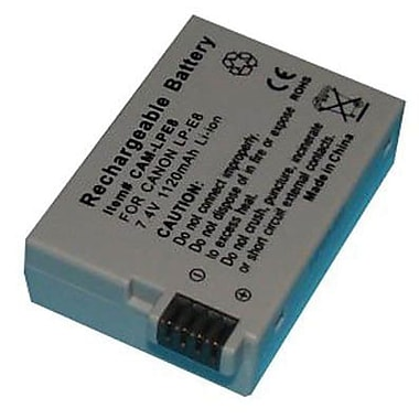 Dantona Replacement Digital Camera Battery, 7.4 VDC, 1120 mAh