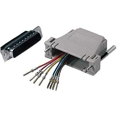 QVS® CC342 Male to RJ45 Female Serial/Terminal Modular Adapter
