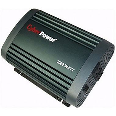 Cyberpower® 1000 W Mobile Power Inverter, 12 VDC Input, 120 VAC Output, 2 Outlets