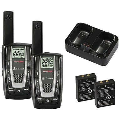 Cobra® MicroTalk® CXR725 Two-Way Radio, Up to 27 Miles