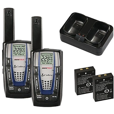 Cobra® MicroTalk® CXR825 Two-Way Radio, Up to 30 Miles