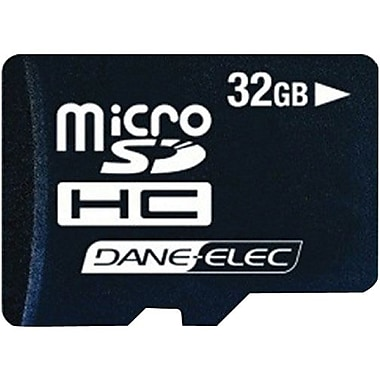 Dane-Elec DA 2-In-1 MicroSD High Capacity Flash Memory Card, 32GB