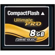 Dane-Elec DA-CF30 CompactFlash Memory Card, 8GB