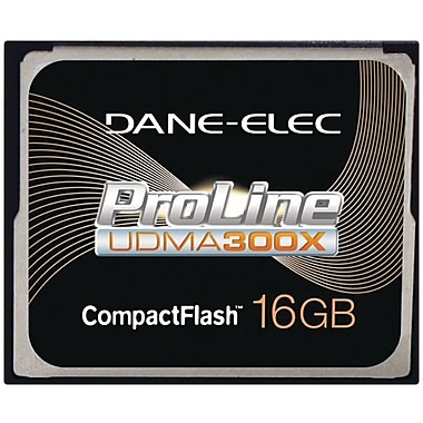 Dane-Elec DA-CF30 300x CompactFlash Memory Card, 16GB