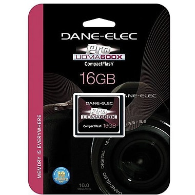 Dane-Elec DA-CF60 600x CompactFlash Memory Card, 16GB