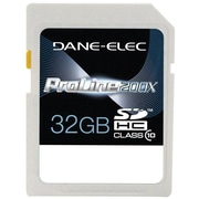 Dane-Elec DA-SD10 Secure Digital High Capacity Flash Memory Card, 32GB