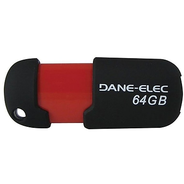 Dane-Elec DA-Z64GCAN6-R USB 2.0 Flash Drive, 64GB