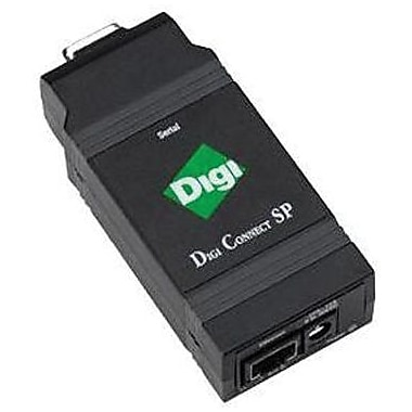 DIGI International® Connect SP® DC-SP-01-S Device Server, 1 Port