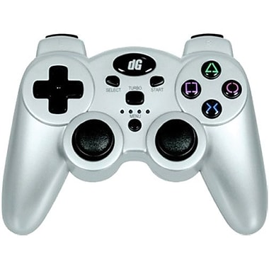 DreamGEAR® PS3 Radium Wireless Controller, Metallic Silver