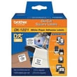 Brother® DK Paper Label, 0.9in.(W) x 0.9in.(L), White