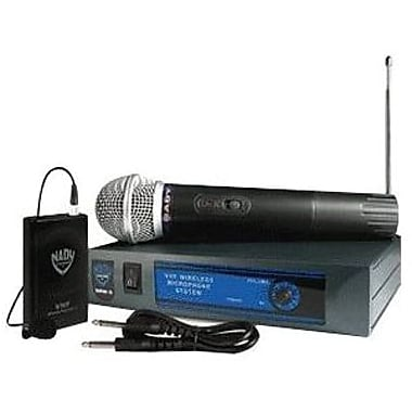 Nady DKW-3 GT Wireless Microphone System, Black