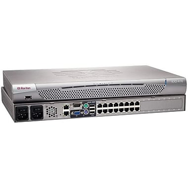 Raritan® DKX2-2 KVM Switch, 16 Ports