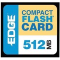Edge™ EDGDM-179502-PE Premium CompactFlash Card, 512MB
