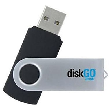 Edge™ Memory DiskGO® C2 EDGDM-235208-PE USB 2.0 Flash Drive, 128 GB